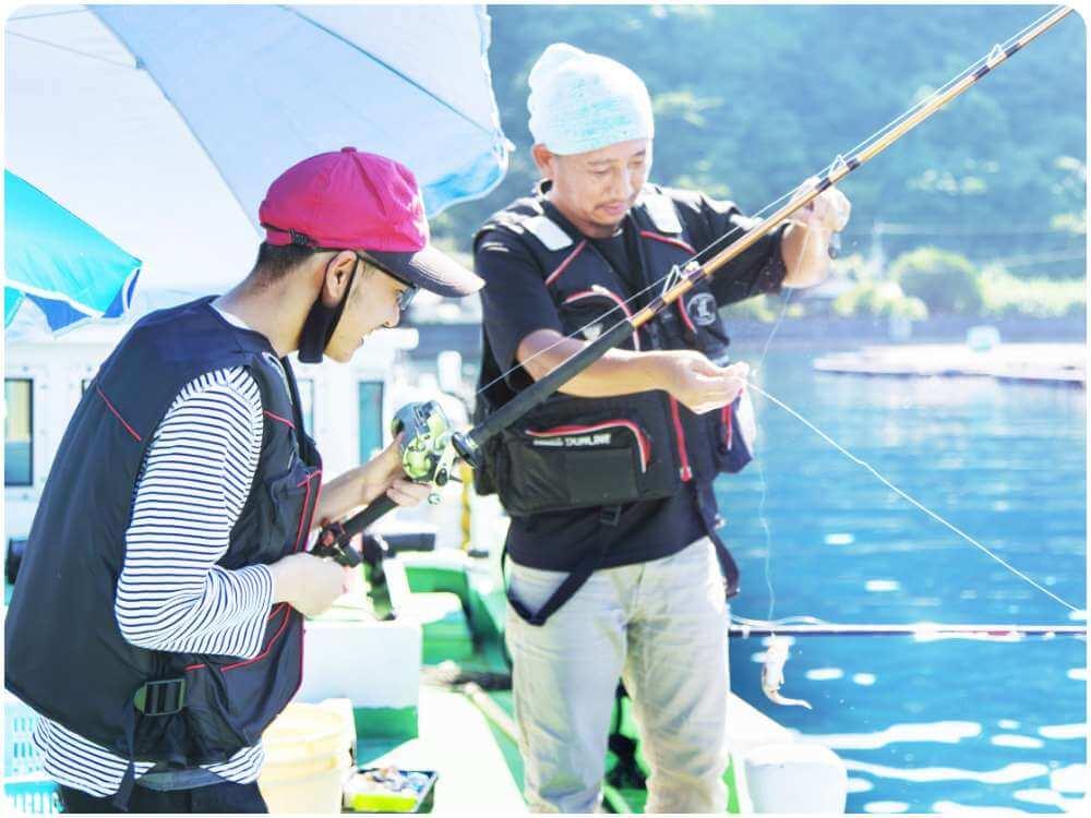 釣り初心者の方も大歓迎!手ぶらで気軽に釣りを楽しむ!