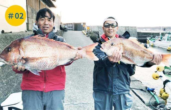 秋の真鯛釣り大会(毎年9月~11月)