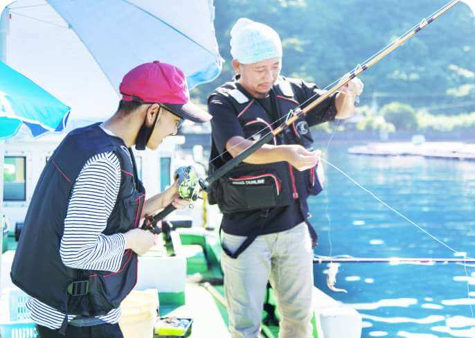 初心者の方も大歓迎!手ぶらで気軽に釣りを楽しむ!
