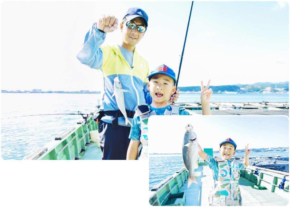 釣りイベントを多数開催!上位入賞者には、賞品贈呈!
