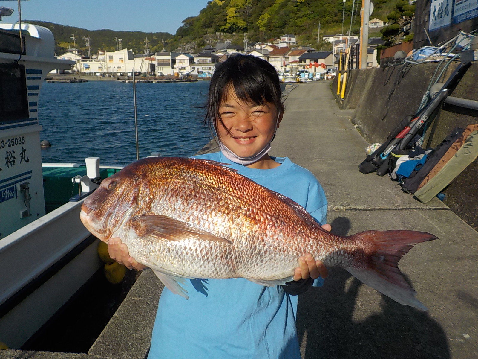 秋の真鯛釣り大会を開催いたします。