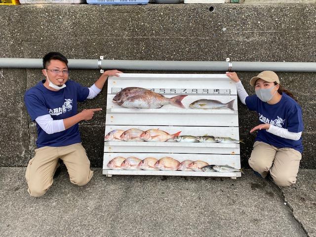 のっこみマダイ釣り大会 第三位ランクイン!