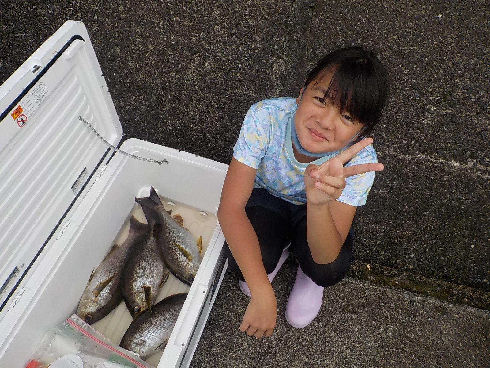 鮫島一家様 イサキ40~45センチ 4尾